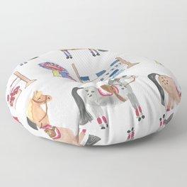 Jumper Ponies Floor Pillow