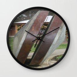 Chilean Mill Wheels Wall Clock