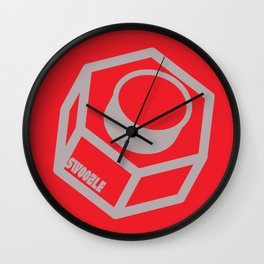 Swoozle Solo Nut Wall Clock