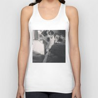 great dane Tank Tops featuring Great Dane by aubreyplays