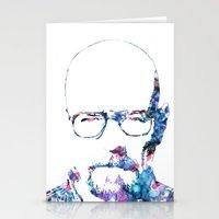 heisenberg Stationery Cards featuring Heisenberg by NKlein Design