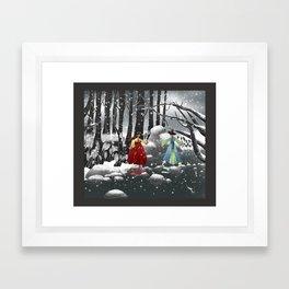 Corea Framed Art Print