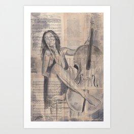 Evening Song Art Print