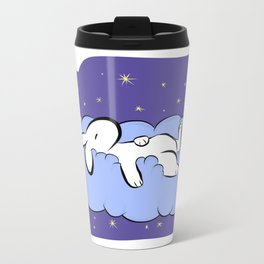 Sleeping Bunny Metal Travel Mug