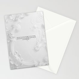 The next day and the next day Stationery Cards