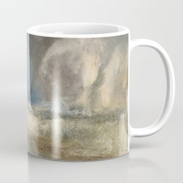 "J.M.W. Turner ""Rockets and Blue Lights (Close at Hand) to Warn Steam Boats of Shoal"" Coffee Mug"