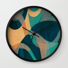 Lake Kaindy (Kazakhstan) Wall Clock