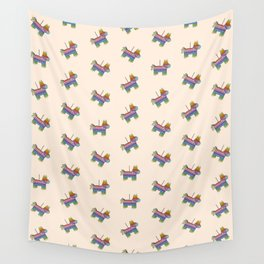 Life of the Party | Peach Pinata Wall Tapestry