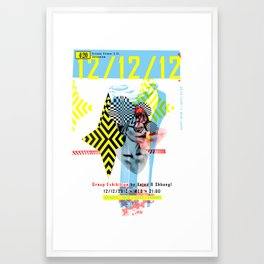 121212 ANALOG zine Framed Art Print