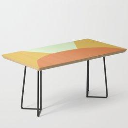 Deyoung Orange Coffee Table