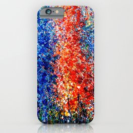 Eternal Spring Abstract Painting iPhone Case