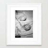 cassandra jean Framed Art Prints featuring jean by McKenzie Nickolas
