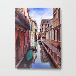Get Lost In Venice Metal Print