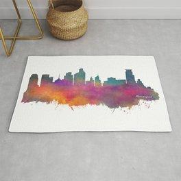 Minneapolis Skyline  Rug