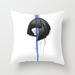 BLUE MYSTIC Throw Pillow
