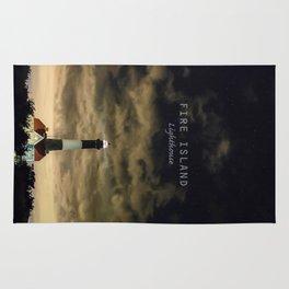 Fire Island Lighthouse - Long Island - New York. Rug