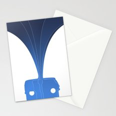 Silhouette Racers - Volkswagen Bus Stationery Cards