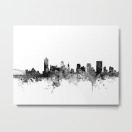 Memphis Tennessee Skyline Metal Print