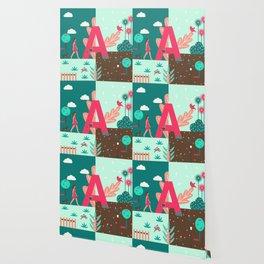 Letter A Wallpaper