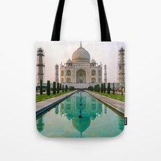 Taj Mahal at Sunset Tote Bag