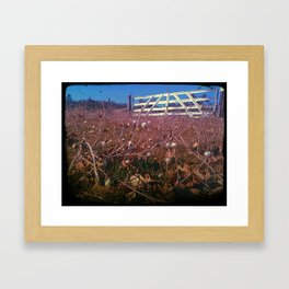 Country Views Framed Art Print