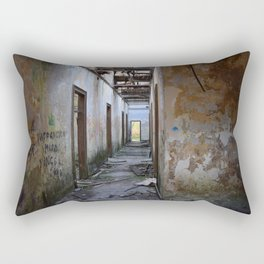 Abandoned Cotton Factory Rectangular Pillow