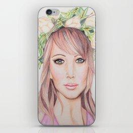 Nymph  iPhone Skin