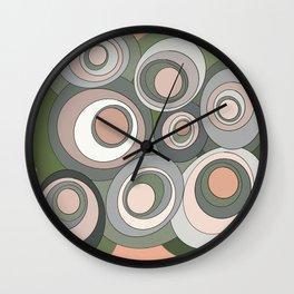 Dream Ovals 7 Wall Clock