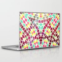 bible verses Laptop & iPad Skins featuring Neon Bible by Kerim Cem Oktay