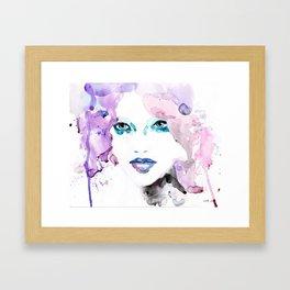 Rosa (pink) one Framed Art Print