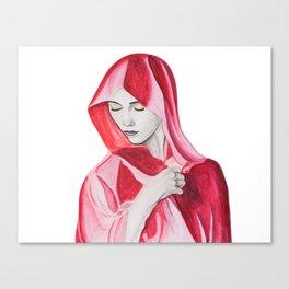 Scarlet Canvas Print