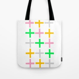 Fifteen Crosses Tote Bag