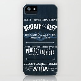 Submariners' Hymn iPhone Case