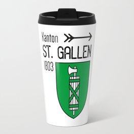 Canton of St. Gallen Travel Mug