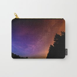 Jewel Tone Starry Night Carry-All Pouch