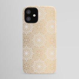 Gold Mandala 18 iPhone Case