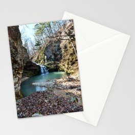 Alone in Secret Hollow with the Caves, Cascades, and Critters, No. 15 of 21 Stationery Cards