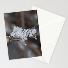 Delicate Snowflake Stationery Cards