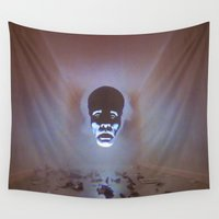 supreme Wall Tapestries featuring Supreme Being by Adrian Sipe