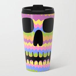 Zig-Zag Skull Travel Mug