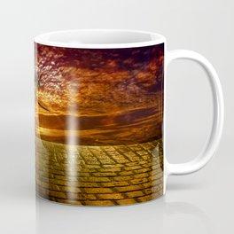 Einsamer Rabe - Lonely raven Coffee Mug