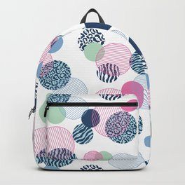 Pattern Clash Backpack
