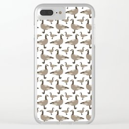 A Gaggle of Geese Clear iPhone Case
