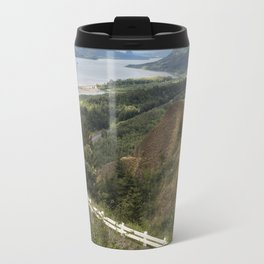 Flowers in the Columbia River Gorge Travel Mug