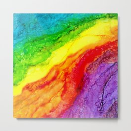 Color Flow #2 Metal Print