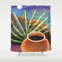 Agave Moods 1 Shower Curtain