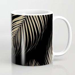 Palm Leaves - Gold Cali Vibes #4 #tropical #decor #art #society6 Coffee Mug