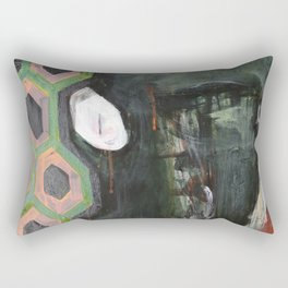 Heads Rectangular Pillow