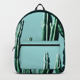 Green Cactus 7 Backpack