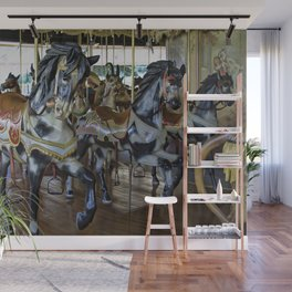 Prancing Ponies Wall Mural